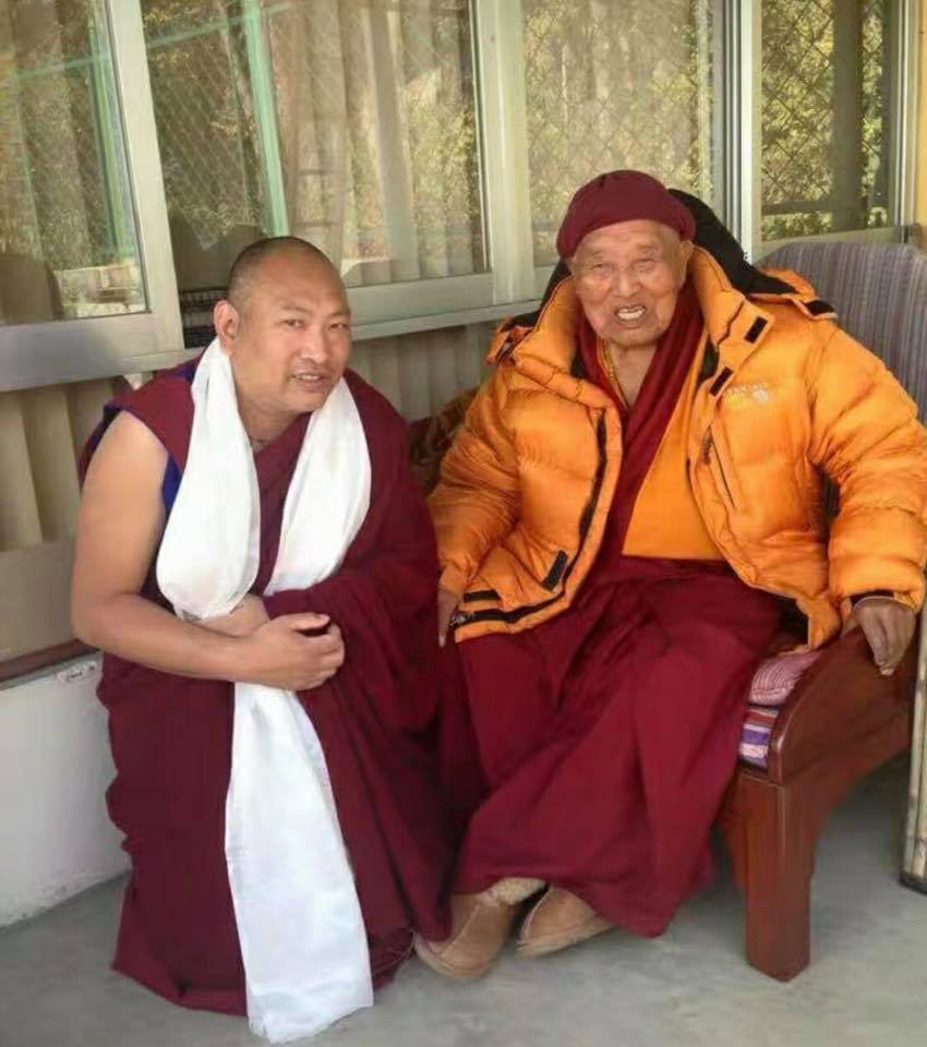 34th Menri Trizin and Yongdzin