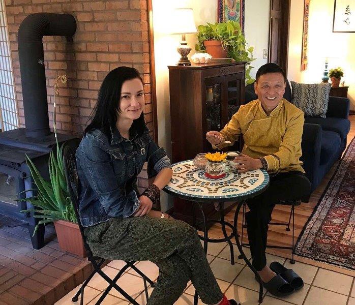 jana and rinpoche